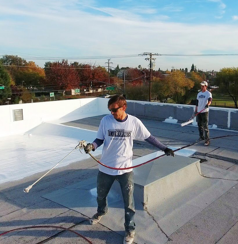 flat roof pros team