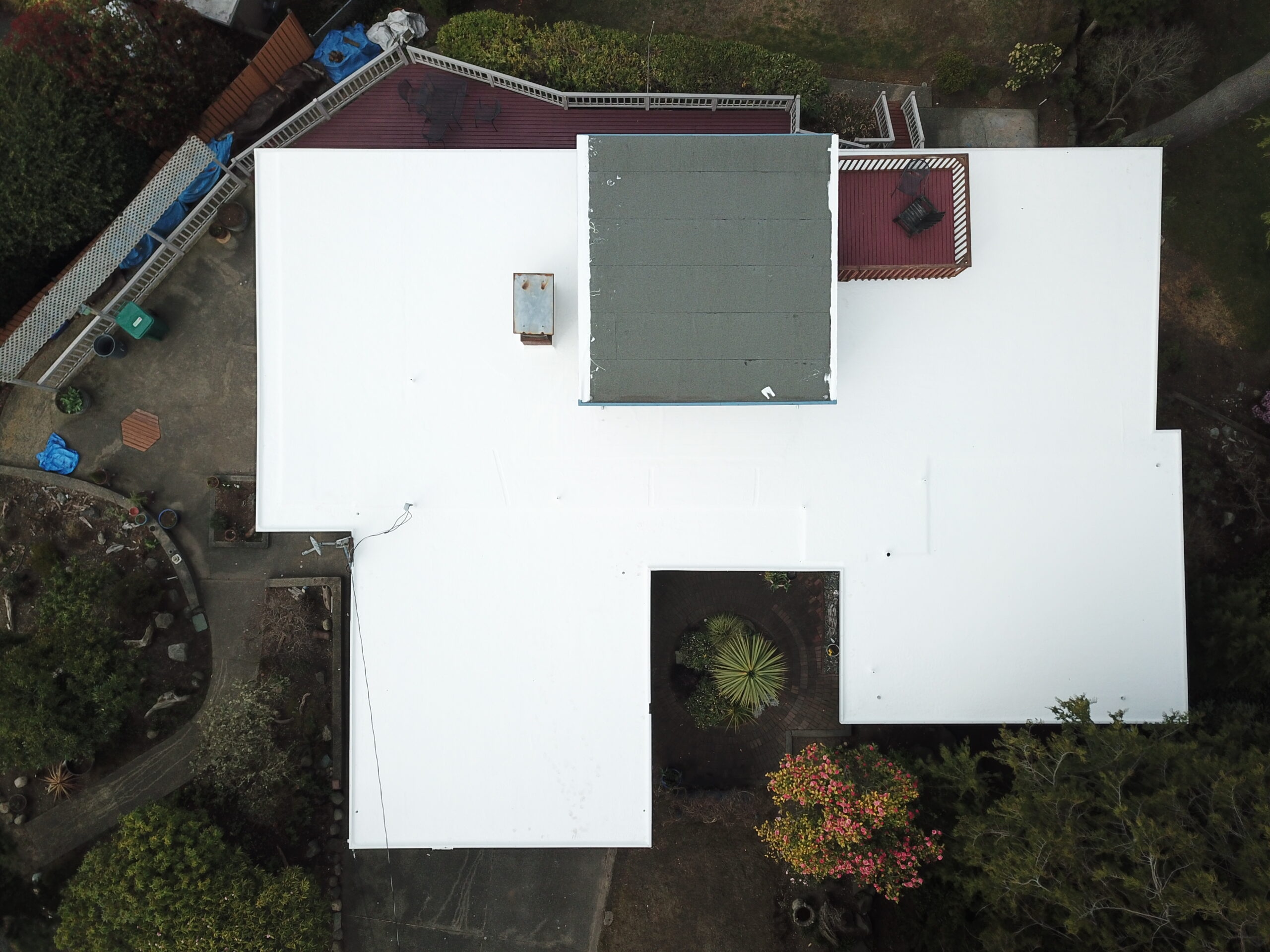 flat roof project in tacoma