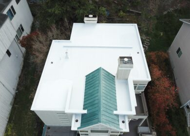 flat roof project in seattle