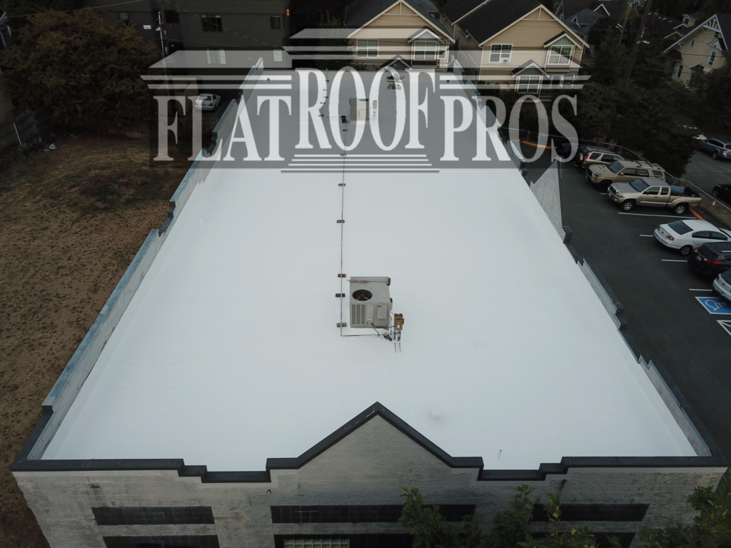 flat roof pros innovative roofing company in Washington state.
