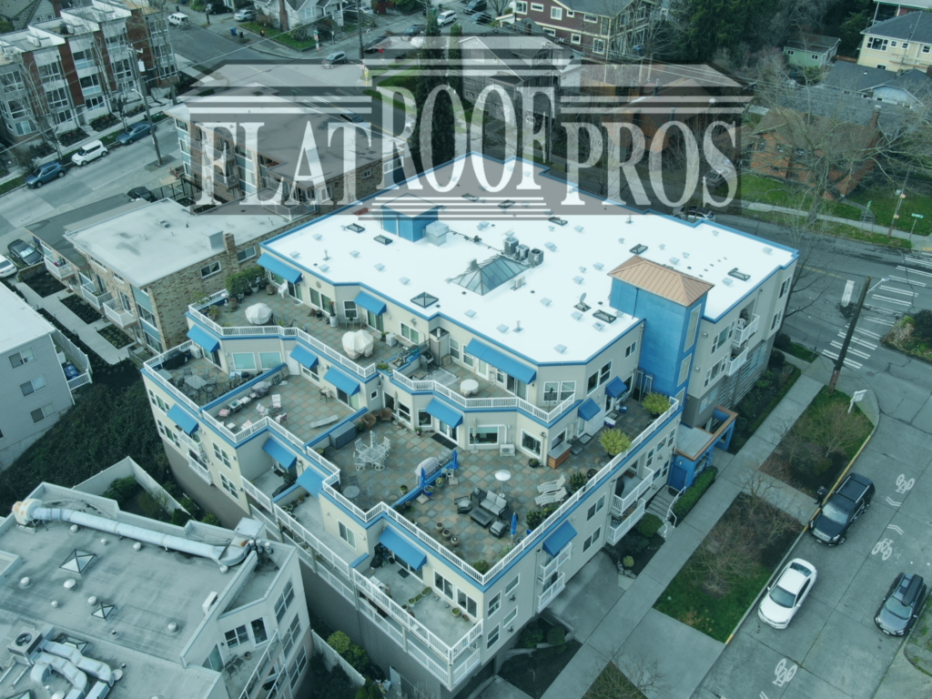 flat roof pros projects in tacoma