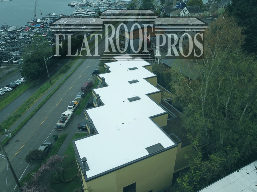 contact flat roof pros for your roofing needs in seattle