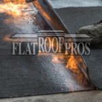 flat roof material