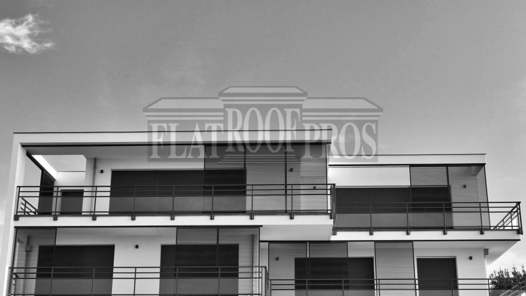 flat roofing for residential and commercial buildings