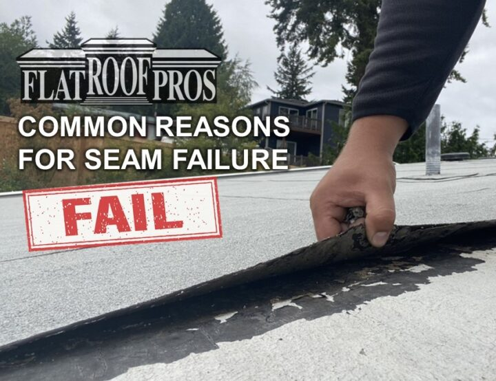 Why is my Roof Failing at the Seams?